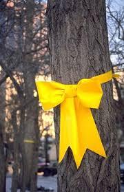 A Yellow Ribbon